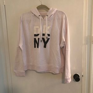 DKNY pink sweatshirt